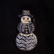Snowman - Blue