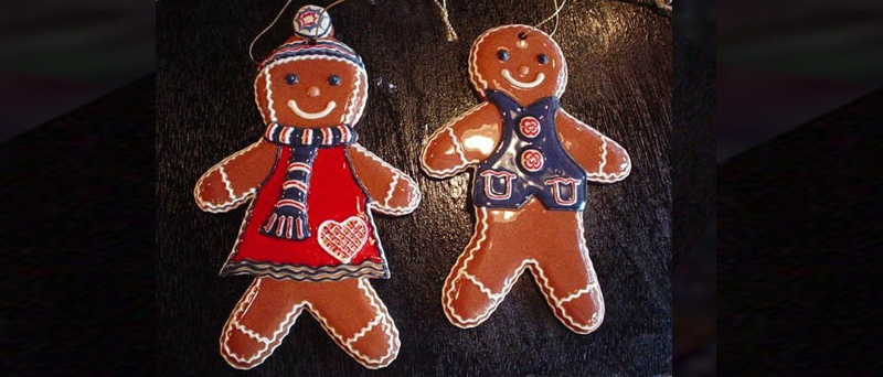 Gingerbread ornaments - click to view collection