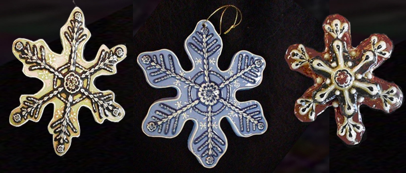 Snowflake Ornaments - click to view collection
